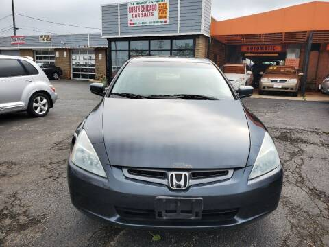 2005 Honda Accord for sale at North Chicago Car Sales Inc in Waukegan IL