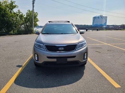 2014 Kia Sorento for sale at Bridge Auto Group Corp in Salem MA