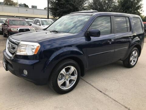 2014 Honda Pilot for sale at AMIGO USED CARS in Houston TX