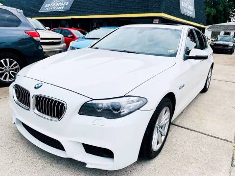 2016 BMW 5 Series for sale at Auto Space LLC in Norfolk VA