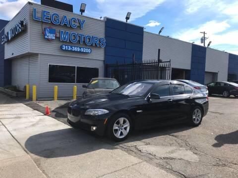 2013 BMW 5 Series for sale at Legacy Motors in Detroit MI