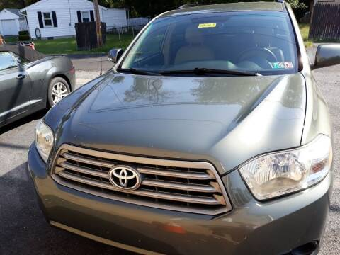 2008 Toyota Highlander for sale at GALANTE AUTO SALES LLC in Aston PA