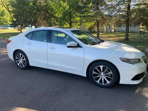2016 Acura TLX for sale at RMI in Chancellor SD