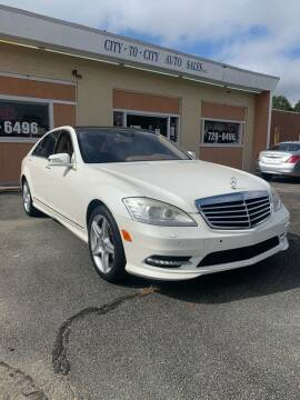 2011 Mercedes-Benz S-Class for sale at City to City Auto Sales in Richmond VA