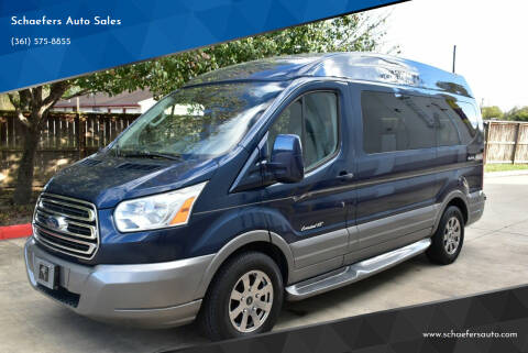 2015 Ford Transit for sale at Schaefers Auto Sales in Victoria TX