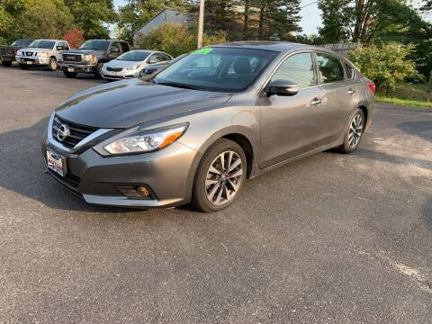 2017 Nissan Altima for sale at Excellent Autos in Amsterdam NY