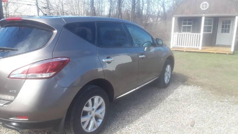 2011 Nissan Murano for sale at Summit Motors LLC in Morgantown WV
