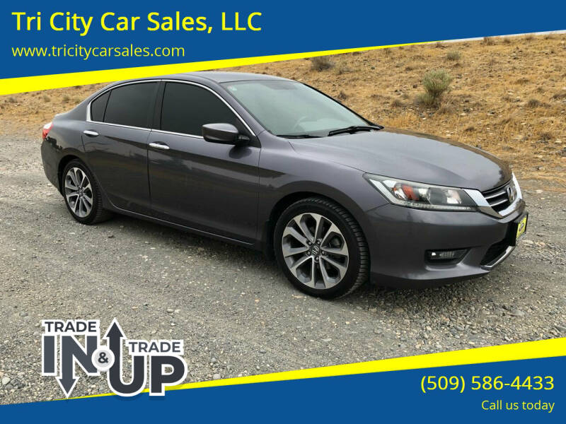 2014 Honda Accord for sale at Tri City Car Sales, LLC in Kennewick WA