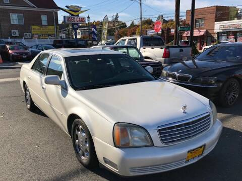 2002 Cadillac DeVille for sale at Bel Air Auto Sales in Milford CT