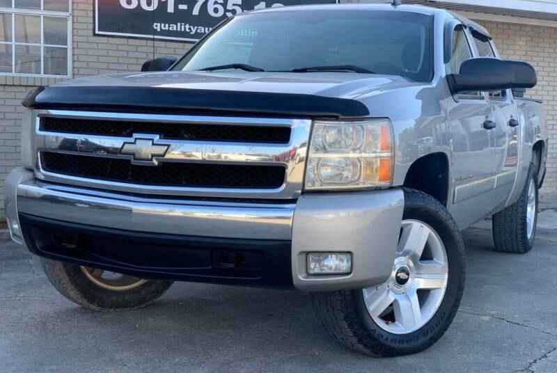 2008 Chevrolet Silverado 1500 for sale at Quality Auto of Collins in Collins MS