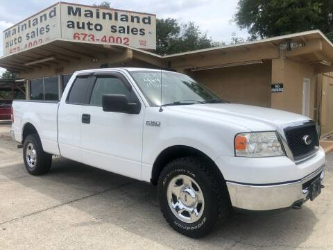 2008 Ford F-150 for sale at Mainland Auto Sales Inc in Daytona Beach FL