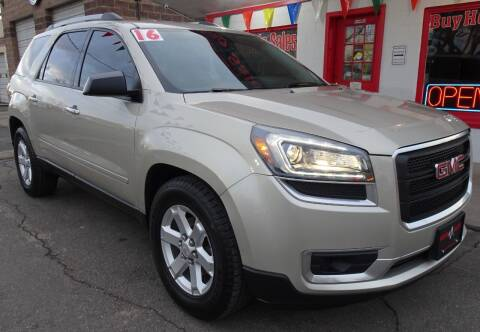 2016 GMC Acadia for sale at VISTA AUTO SALES in Longmont CO