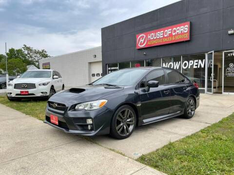 2016 Subaru WRX for sale at HOUSE OF CARS CT in Meriden CT