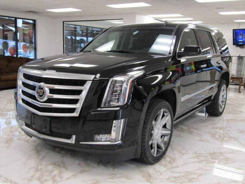 2015 Cadillac Escalade for sale at Dealer One Auto Credit in Oklahoma City OK