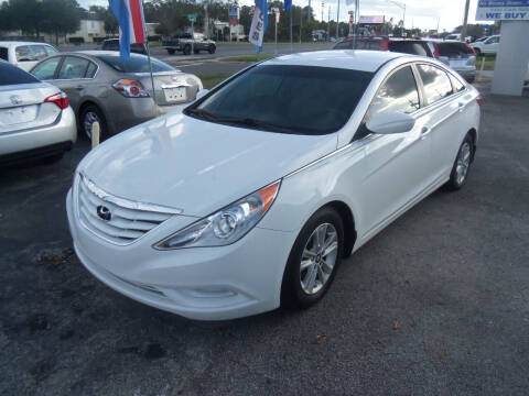 2012 Hyundai Sonata for sale at ORANGE PARK AUTO in Jacksonville FL