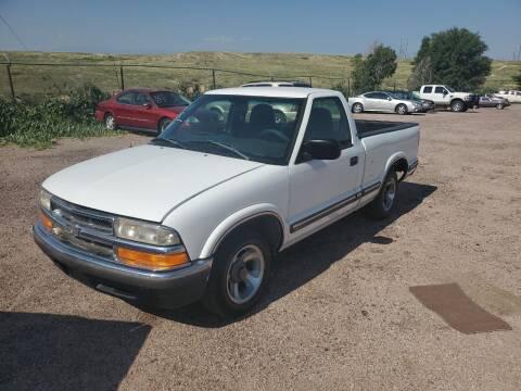 1998 Chevrolet S-10 for sale at PYRAMID MOTORS - Pueblo Lot in Pueblo CO