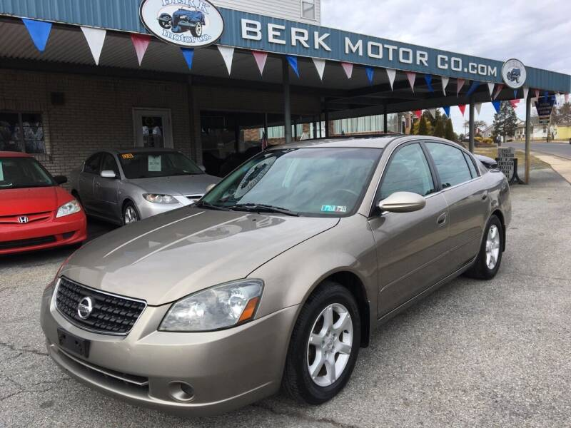 2005 Nissan Altima for sale at Berk Motor Co in Whitehall PA