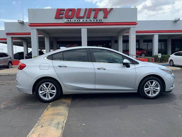 2018 Chevrolet Cruze for sale at EQUITY AUTO CENTER in Phoenix AZ