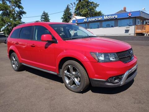 2016 Dodge Journey for sale at All American Motors in Tacoma WA