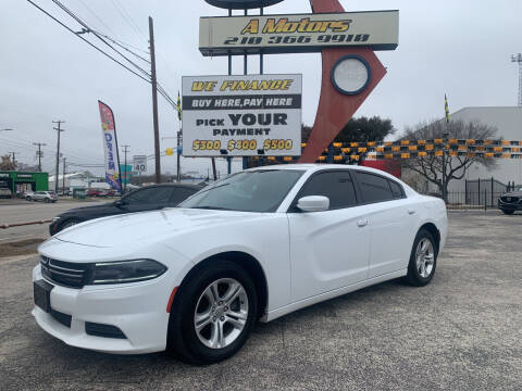 2016 Dodge Charger for sale at A MOTORS SALES AND FINANCE - 6226 San Pedro Lot in San Antonio TX
