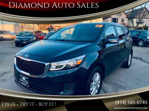 2016 Kia Sedona for sale at Diamond Auto Sales in Milwaukee WI