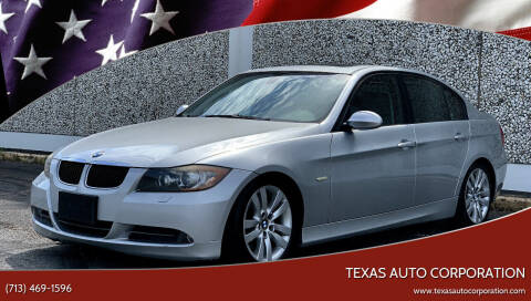 2008 BMW 3 Series for sale at Texas Auto Corporation in Houston TX