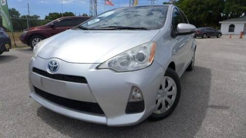 2012 Toyota Prius c for sale at Das Autohaus Quality Used Cars in Clearwater FL