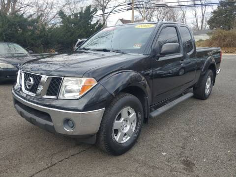 2007 Nissan Frontier for sale at CENTRAL GROUP in Raritan NJ