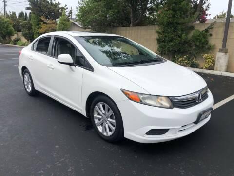 2012 Honda Civic for sale at Carmelo Auto Sales Inc in Orange CA