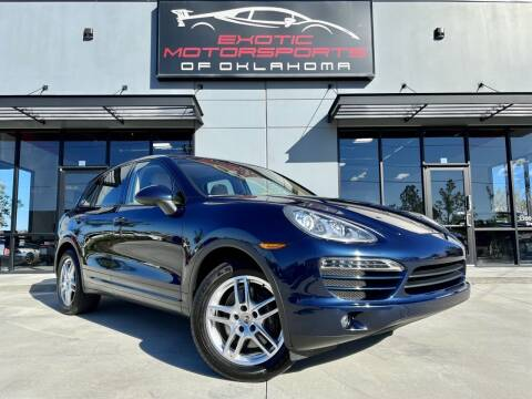 2012 Porsche Cayenne for sale at Exotic Motorsports of Oklahoma in Edmond OK