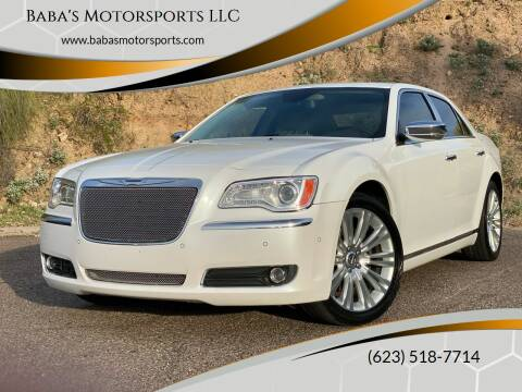 2011 Chrysler 300 for sale at Baba's Motorsports, LLC in Phoenix AZ