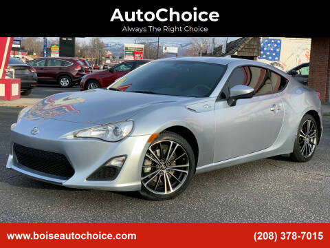 2015 Scion FR-S for sale at AutoChoice in Boise ID