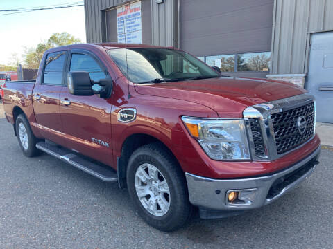 2017 Nissan Titan for sale at 222 Newbury Motors in Peabody MA