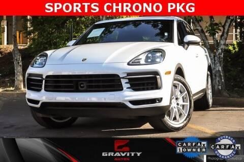 2019 Porsche Cayenne for sale at Gravity Autos Atlanta in Atlanta GA