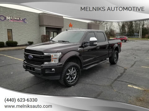 2018 Ford F-150 for sale at Melniks Automotive in Berea OH