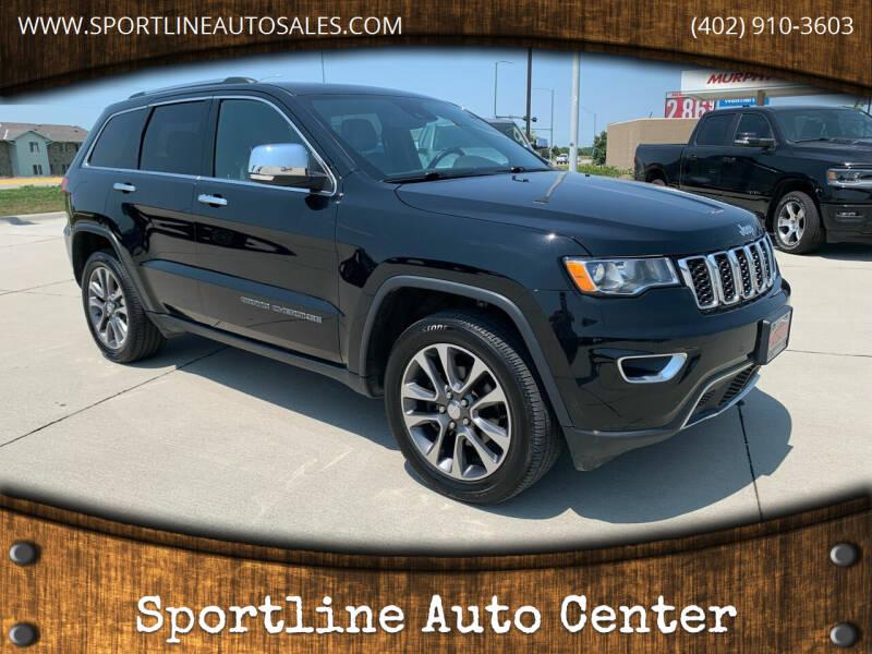 2018 Jeep Grand Cherokee for sale at Sportline Auto Center in Columbus NE