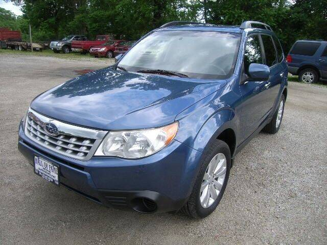 2012 Subaru Forester for sale at HALL OF FAME MOTORS in Rittman OH