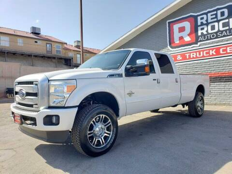 2015 Ford F-350 Super Duty for sale at Red Rock Auto Sales in Saint George UT