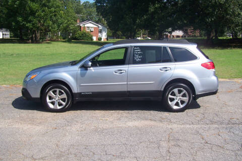 2013 Subaru Outback for sale at Blackwood's Auto Sales in Union SC
