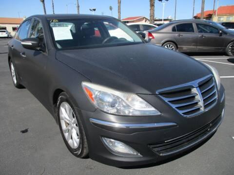2013 Hyundai Genesis for sale at F & A Car Sales Inc in Ontario CA