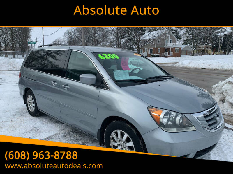 2010 Honda Odyssey for sale at Absolute Auto in Baraboo WI