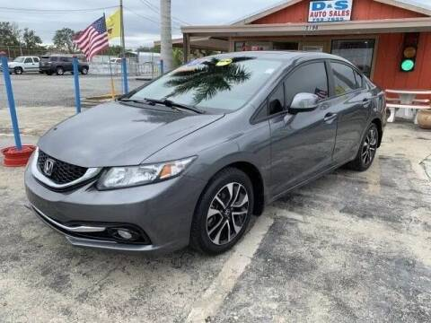 2013 Honda Civic for sale at D&S Auto Sales, Inc in Melbourne FL