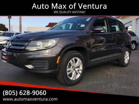 2016 Volkswagen Tiguan for sale at Auto Max of Ventura in Ventura CA