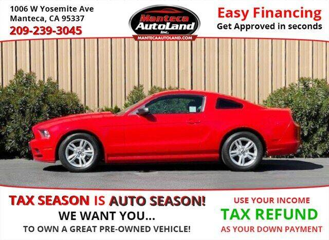 2013 Ford Mustang for sale at Manteca Auto Land in Manteca CA