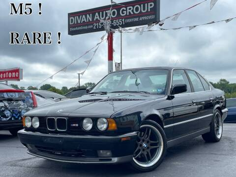 1991 BMW M5 for sale at Divan Auto Group in Feasterville Trevose PA