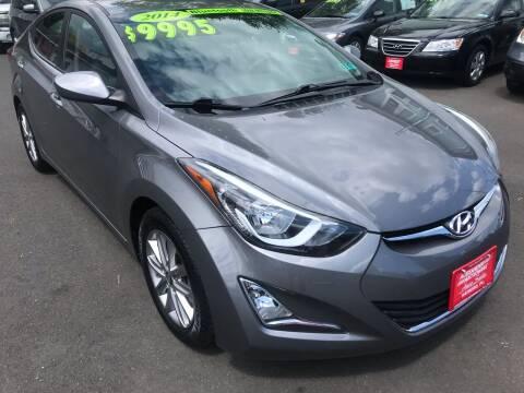 2014 Hyundai Elantra for sale at Alexander Antkowiak Auto Sales in Hatboro PA