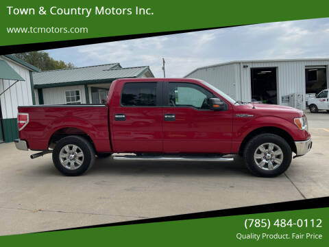 2012 Ford F-150 for sale at Town & Country Motors Inc. in Meriden KS