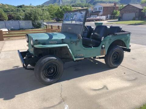 1947 Jeep Willys for sale at Classic Car Deals in Cadillac MI