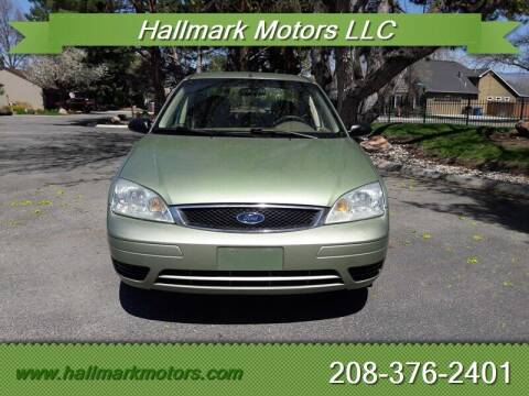 2007 Ford Focus for sale at HALLMARK MOTORS LLC in Boise ID