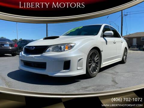 2013 Subaru Impreza for sale at Liberty Motors in Billings MT